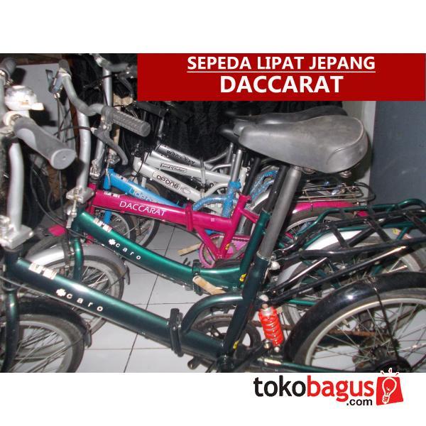 Sepeda Lipat Jepang Daccarat (bekas) Berkualitas